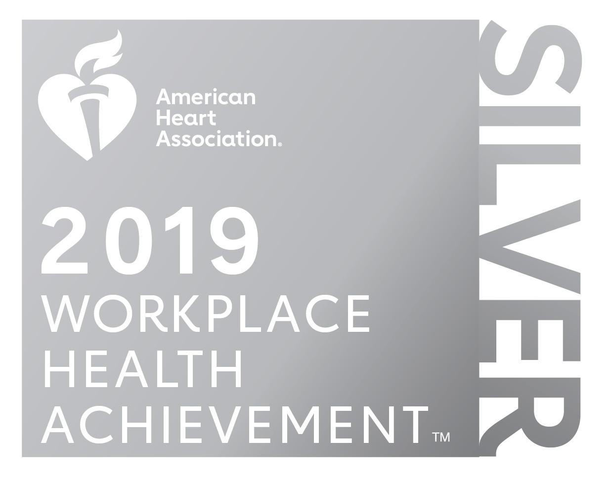 AHA Silver Award Wellness